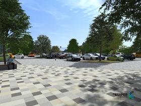 Parkeerterrein van de toekomst