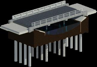 De totaaloplossing van de Schoenriemsebrug